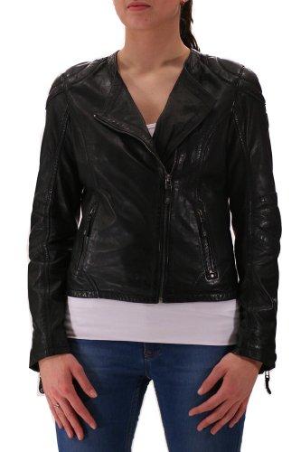 Hadley LVTW Black Mauritius Lederjacke, Damen, Outerwear