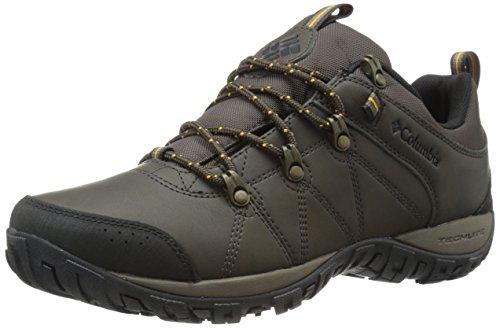 Columbia - Peakfreak Venture Waterproof, Scarpe Da Trekking da uomo, marrone (cordovan/squash 231), 43