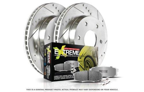 Power Stop K6166-26 1-Click Street Warrior Z26 Brake Kit