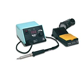Weller WESD51 Digital Soldering Station with  Power Unit, Soldering Pencil, Stand, Sponge