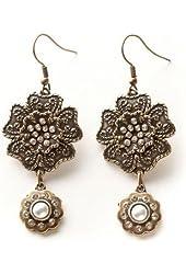 Kelly Rae Roberts Flower Vintage Earrings