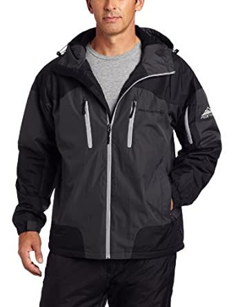 Free Country Mens Fcx Multi Ripstop Midweight Jacket, Leapencil/Black, XX-Large