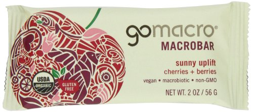 MACROBARS Organic Variety Pack of Peanut Butter Chocolate Chip, Granola w/ Coconut, and Cherries 'n Berries, 1.8 oz- 2.5 oz Bars (Pack of 15)