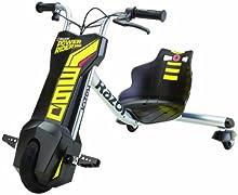 Razor PowerRider 360 - Vehículo eléctrico para niños, color amarillo