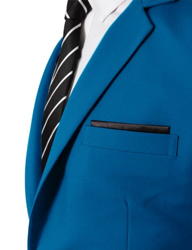 H2H Mens Single Breasted Slim Fit Blazer with Various Color large h2h