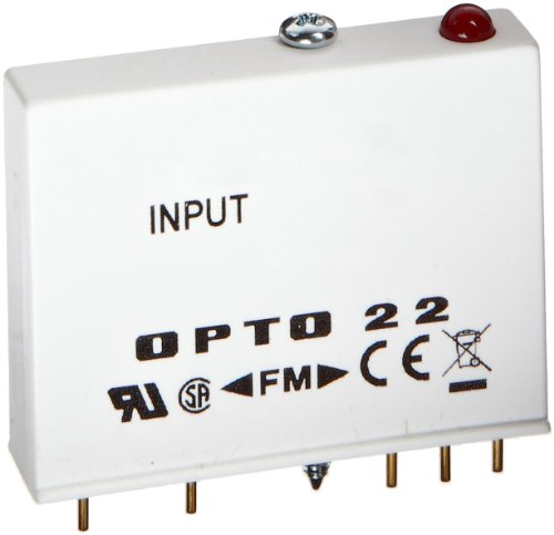 Opto 22 G4Idc5K G4 Dc Input With Very High Speed, 2.5-16 Vdc, 5 Vdc Logic, 4000 Volts I/O Isolation, 0.025 Ms Turn-On/Off Time, 30 Ma Input Current