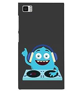 PRINTSHOPPII MUSIC FUNNY Back Case Cover for Xiaomi Redmi Mi3::Xiaomi Mi 3