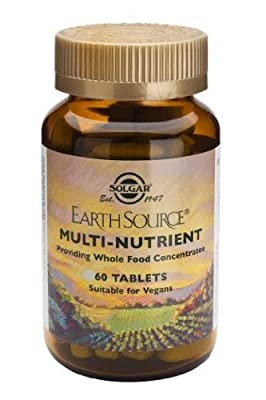 Solgar-Earth Source® Multi-Nutrient Tablets Providing Whole Food Concentrates 60 from Solgar