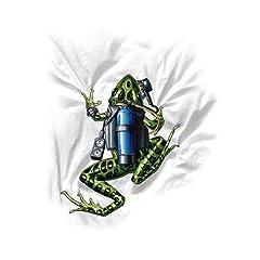 Buy Amphibious Outfitters Scuba Frog T-Shirt by Amphibious Outfitters