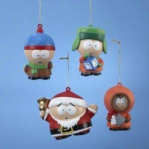 South Park 4 Piece Ornament Set