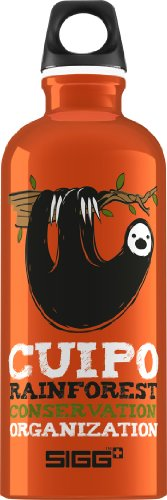 Sigg Cuipo Steve The Sloth Water Bottle, 0.6-Litre front-972591