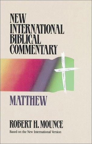 Matthew, ROBERT H. MOUNCE