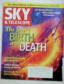 Sky & Telescope Magazine June 2007 (The Sun'S Birth And Death, Vol. 113)
