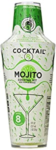 Cocktail Rx Mojito Cocktail Kit, 8 Ounce Shaker (Pack of 6)