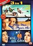Zindagi na milegi dobara / Kaho naa pyaar Hai / Koi Mil Gaya (3 in 1 DVD Without Subtittle)