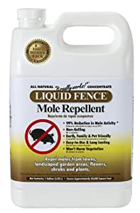 Liquid Fence 167 Mole Repellent, 1-Gallon Concentrate (Discontinued by Manufacturer)