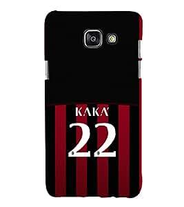PRINTVISA Football Kaka Brazil Case Cover for Samsung Galaxy A5 A510 (2016 Edition)