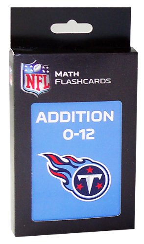 NFL Tennessee Titans Addition Flash Cards