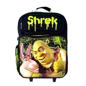 202cbe16bd7d Roller Luggage Discountz: Inexpensive Donkey & Shrek best pals ...