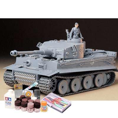 プラモデル製作セット 1/35 ドイツ重戦車 タイガーI 初期生産型