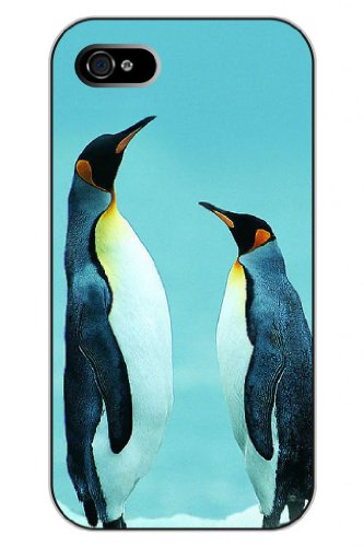 Sprawl Unique Creative Design Cute Animal Snap On Protective Iphone 5 Case -- Penguins front-1033695