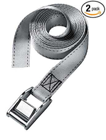 Master Lock 3060DAT 12-Foot-by-1-inch Lashing Strap, 2-Pack