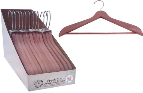 цена на Ddi Aromatic Cedar Suit Hanger 3Pk(Pack Of 4)