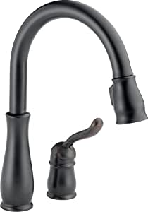 Delta 978-RB-DST Leland Single Handle Pull-Down Kitchen