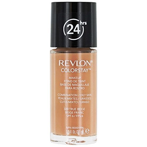 Revlon ColorStay Makeup Foundation for Combination/Oily Skin - 30 ml, 320 TRUE BEIGE