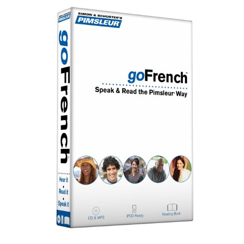 Pimsleur goFrench: Speak & Read the Pimsleur Way [With Book(s) and MP3] (Go Pimsleur)