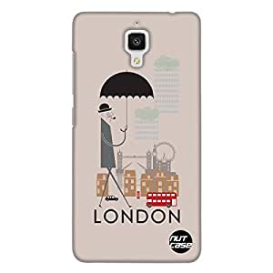 Designer Xiaomi MI 4 Case Cover Nutcase -London City