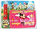 Disney Minnie mouse wallet and watch combo tv kids girls birthday present gift
