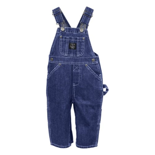 Key Toddler-Boys' Industries Denim Overalls 2T-4T Denim 2T front-956530