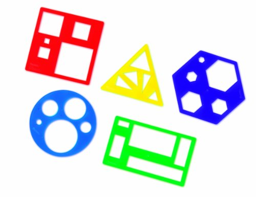 Learning Resources Primary Relational Shapes Template Set