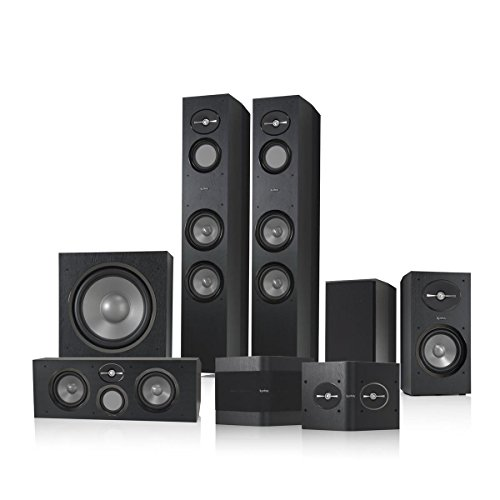 Infinity Reference 7.1 Home Theater Speaker Package (Black)