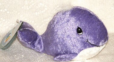 Precious Moments Tender Tails Purple Whale - 1