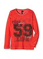 CMP Camiseta Manga Larga (Rojo)