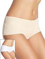 2 Pack High Rise No VPL Shorts