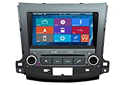 See Crusade Car DVD Player for Mitsubishi Outlander 2007-2013 Support 3g,1080p,iphone 6s/5s,external Mic,usb/sd/gps/fm/am Radio 8 Inch Hd Touch Screen Stereo Navigation System+ Reverse Car Rear Camara + Free Map Details
