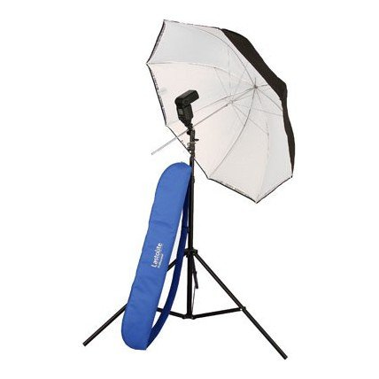 Lastolite 99cm Umbrella Kit with Stand and 2402 Tilthead