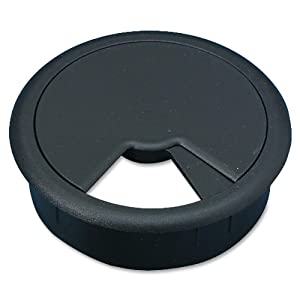 Cord Away Master Adjustable Wire Organizer Grommet, 2-Inch Diameter, Black, 1 Pack (00201)