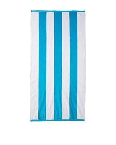 Espalma Tropical Velour Towel, Aqua