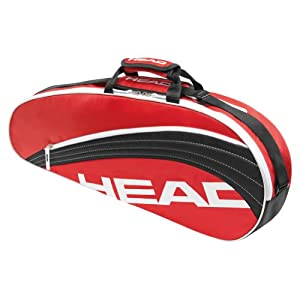 Buy Core Pro Tennis Bag Red and Black by HEAD