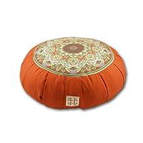 Relaxso Zafu Statics Meditation Cushion Toile Mocha