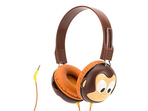 Volume-Limiting Monkey KaZoo MyPhones Headphones renolux автокресло serenity griffin