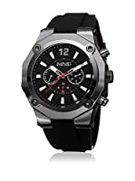 August Steiner Reloj con movimiento cuarzo suizo Man AS8080BK Negro