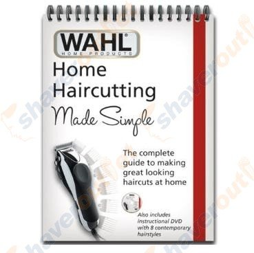 Wahl 90059 Home Haircutting Made Simple Book And How-To Dvd