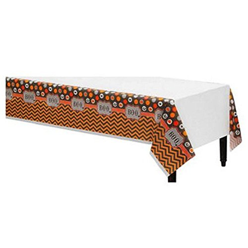 Amscan Modern Halloween Table Cover 54x102-1 count