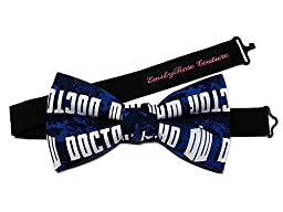 Star War-Super Heroes-Sci Fi Bow Ties (Large (12 years old to adult), Doctor Who)