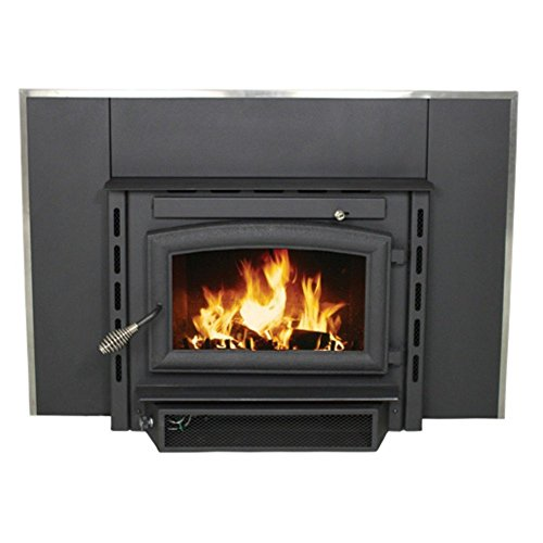 US Stove 2200i EPA Certified Wood Burning Fireplace Insert, Medium (Fireplace Inserts Wood compare prices)